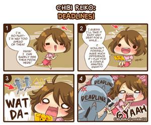 Chibi Reiko: Deadlines! by mmidori31