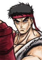 Street Fighter - Ryu by dafrek