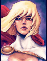 Power Girl by dafrek