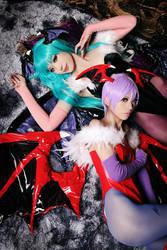 Darkstalkers by yui930
