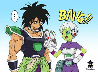 Broly and Chirai by GodBLACK17