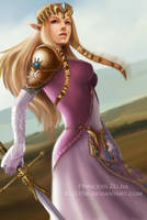 Princess Zelda by EliJ156