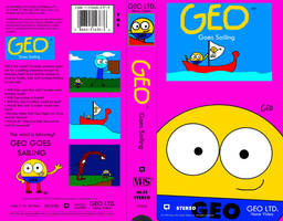 Geo Goes Sailing 1993 VHS Front and Back by geoshea