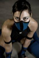 Kitana - Mortal kombat Shaolin Monks Cosplay by Adelbra