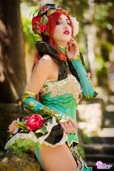 Poison Ivy Steampunk Cosplay - noFlutter vers by Adelbra