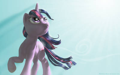 Twilight Sparkle wallpaper by MohawkMax