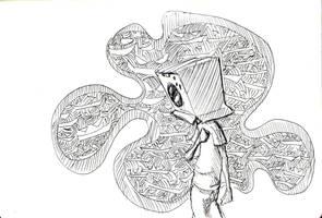 Box Head - The Evil Laugh by SEEZ85