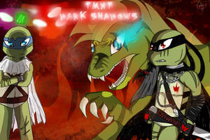 TMNT Dark Shadows WALLPAPER by ArtisticJessy