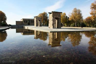 Templo de Debod by KorienDesings
