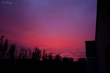 Sky's on fire by KorienDesings
