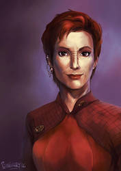 Kira Nerys by Remainaery
