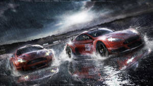 Aston Martin racing scene by RS--Design