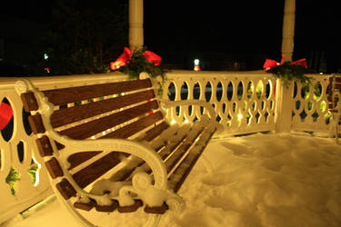 +Christmas Bench 4+ by Undreamed-Stock