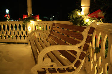+Christmas Bench 5+ by Undreamed-Stock