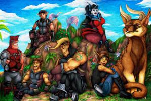 The Seven Seekers by Lurking-Leanne
