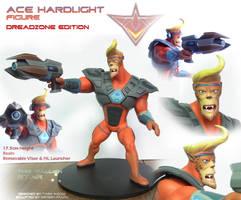 Ace Hardlight - Figure by Lurking-Leanne