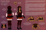 Reference - Cienna Aries (maid outfit) by Lurking-Leanne