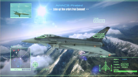 Concept - Ace Combat GUI by Jetfreak-7