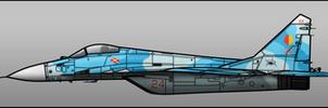 Yuktobanian MiG-29K by Jetfreak-7