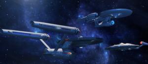 Trek Modern era Ships by Jetfreak-7