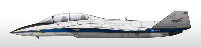 T-65A - NASA DFRC by Jetfreak-7