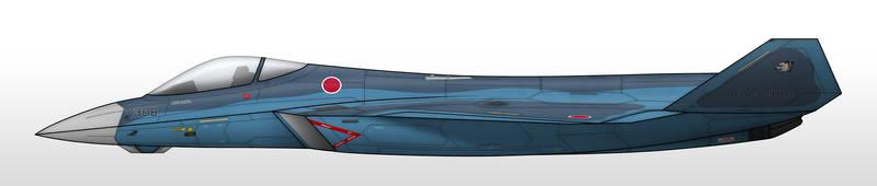 F-25J - Japan Air Self Defense Force by Jetfreak-7