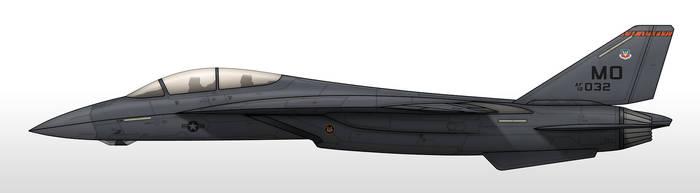 F-28D - US Air Force by Jetfreak-7