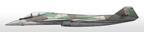 Su-49A - Polish Air Force by Jetfreak-7