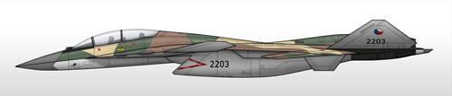 X-02B - Czech Air Force by Jetfreak-7