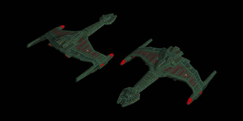 Klingon K'vargh Class by Jetfreak-7