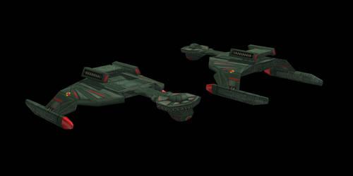 Klingon Gev'ret Class by Jetfreak-7