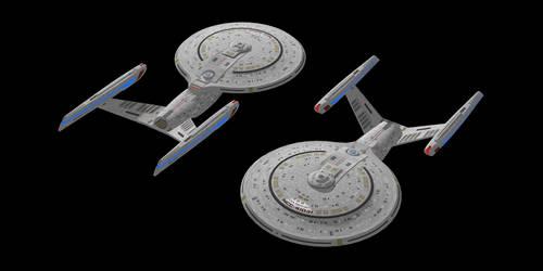 Starfleet Victory Class by Jetfreak-7
