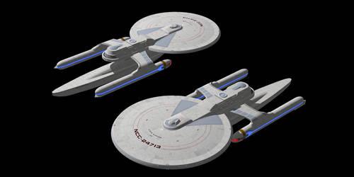 Starfleet Spokane Class by Jetfreak-7