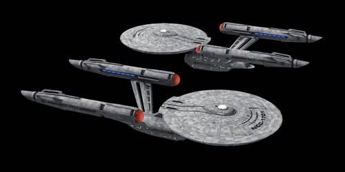Starfleet Constitution Class (DSC) by Jetfreak-7