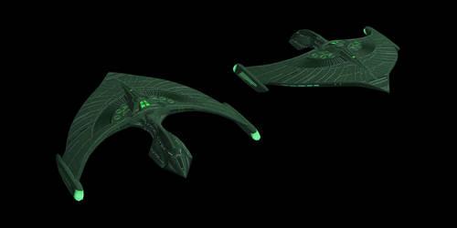 Romulan Raptor Class by Jetfreak-7