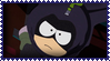 Mysterion Stamp by ginacartoon