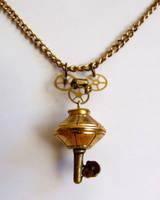 Steampunk Key Pendant by ladysilver2267