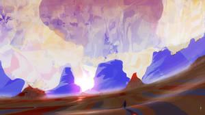 Desert trek by Dumaker