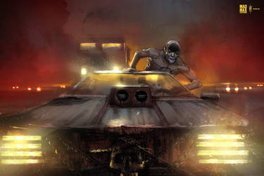 Mad Max Fury Road fanart by Dumaker