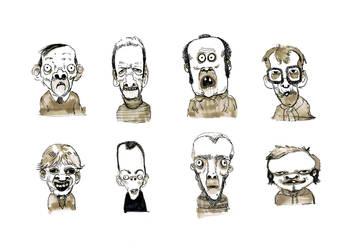 Doodling inktober 2 by Dumaker