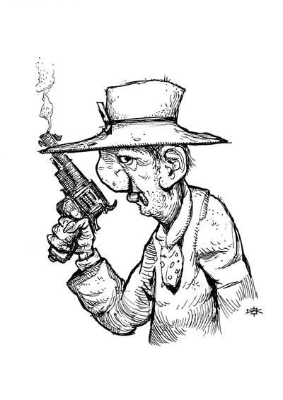 Old cowboy by Dumaker