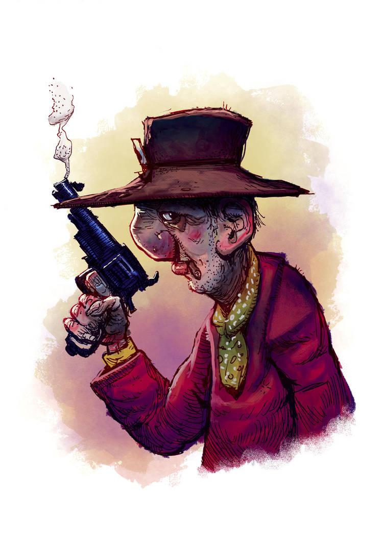 Old Cowboy color by Dumaker