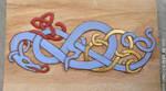 Cutting board Viking dragon by Devilry