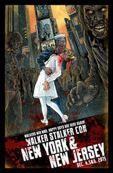 Walker Stalker Con 2015 NY/NJ poster-Reg Version by batmankm