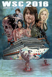 Walker Stalker Cruise 2016 by batmankm