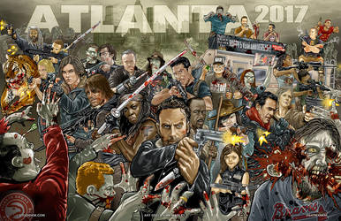 WSC Atlanta 2017 Tribute Art by batmankm