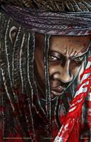 Michonne Portrait #1 by batmankm