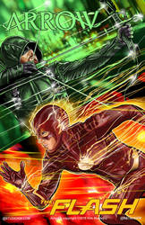 ArrowVSFlash by batmankm