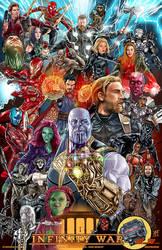 Avengers Infinity War by batmankm