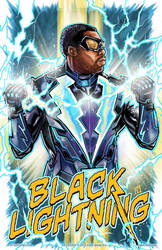 Black Lightening by batmankm